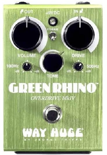 Dunlop WHE207 Green Rhino MkIV Distortion Pedals