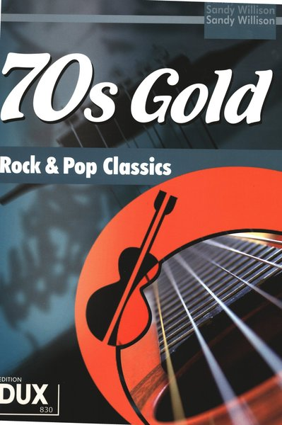 Dux 70's Gold Rock & Pop Classic Textbooks for Electric Guitar
