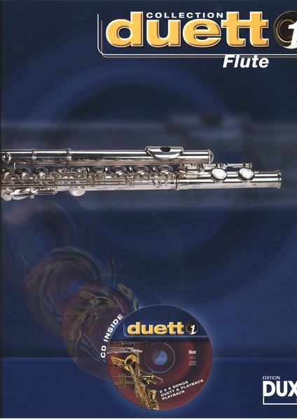 Dux Duett Collection Band 1 (mit CD) Textbooks for Soprano Recorder