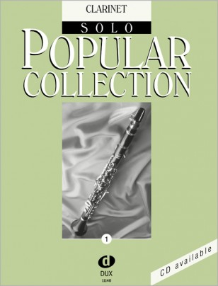 Dux Popular Collection Vol 1 Songbooks for Clarinet