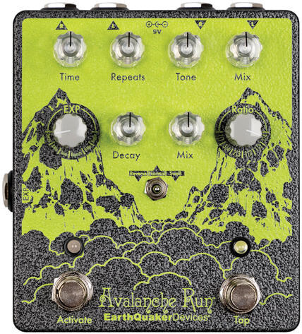 EarthQuaker Devices Avalanche RunV2 / Stereo Delay / Reverb - Limited Edition Delay Pedale