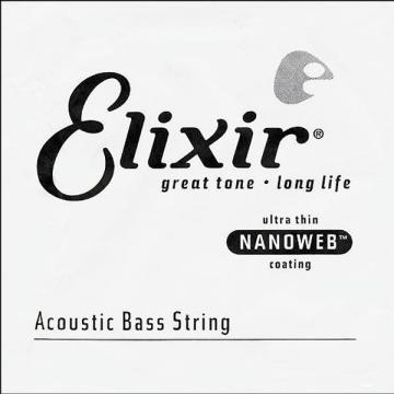 Elixir NanoWeb Ac.Bass Single String (.065)