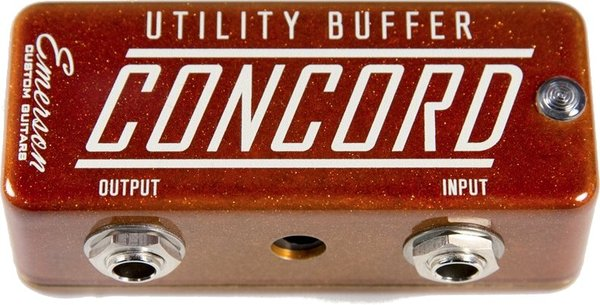 Emerson Custom Concord Utility Buffer (orange metallic)