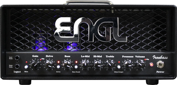 Engl Ironbass Tube Head / E1055 (700 watt tube) Bass Heads