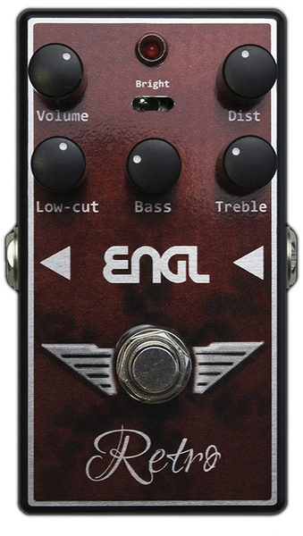 Engl RS-10 Retro Overdrive Pedal Distortion Pedals