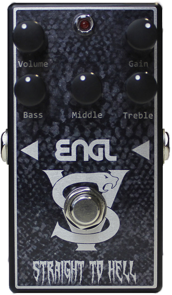 Engl VS-10 Straight To Hell Distortion Pedal Distortion Pedals