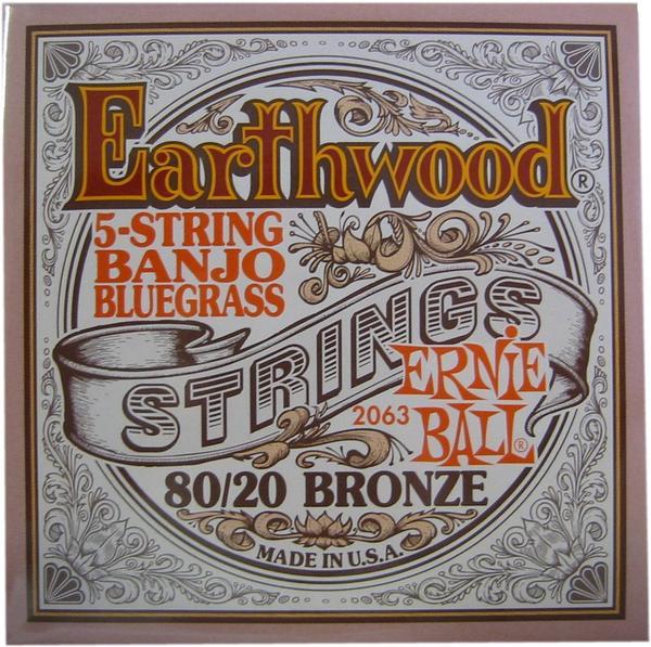 ernie ball 2063 earthwood 5 string banjo bluegrass musix ch. Black Bedroom Furniture Sets. Home Design Ideas