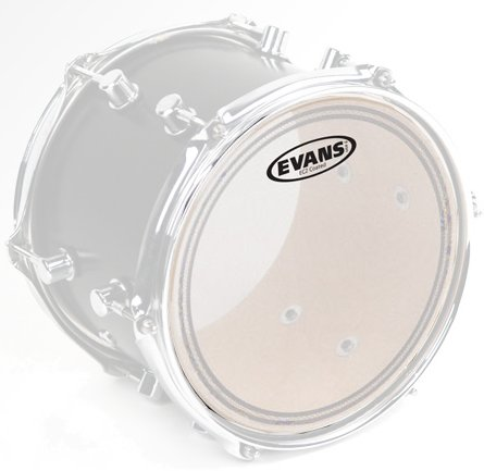 "Evans EC2 SST 13' clear (Clear) 13"" Schlagfelle Tom"