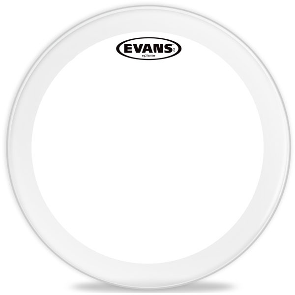 Evans Genera EQ2 Clear Bass 18 BD18GB2 Bass Drum Batter 18 ""