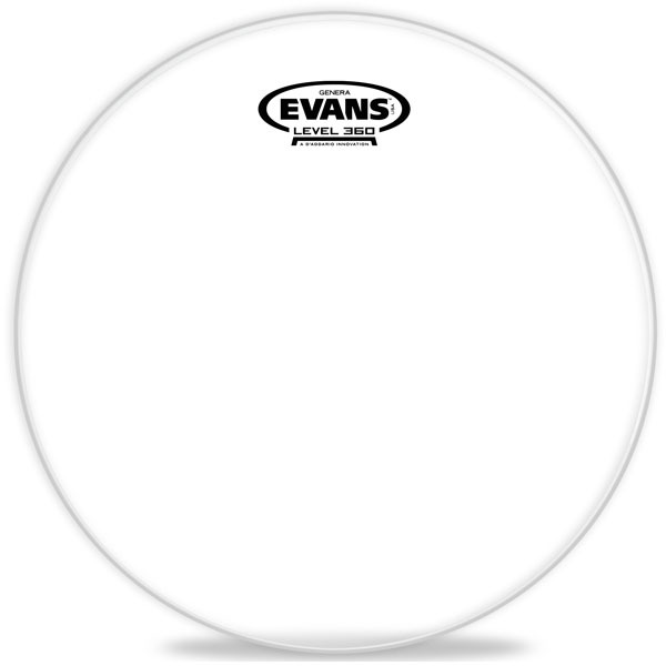 Evans Genera Resonant 10 TT10GR (clear)