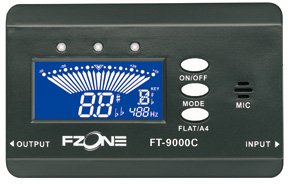 FZone FT-9000W (Black) Wind Instrument Tuners
