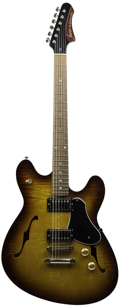 Fano Guitars GF6 (tobacco burst x-light distress)