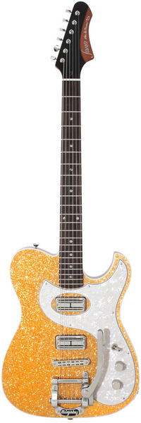 Fano Guitars TC6 (gold sparkle drum top)