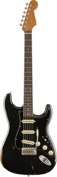 Fender 2019 Limited Edition Roasted Poblano Strat Relic (Aged Black)