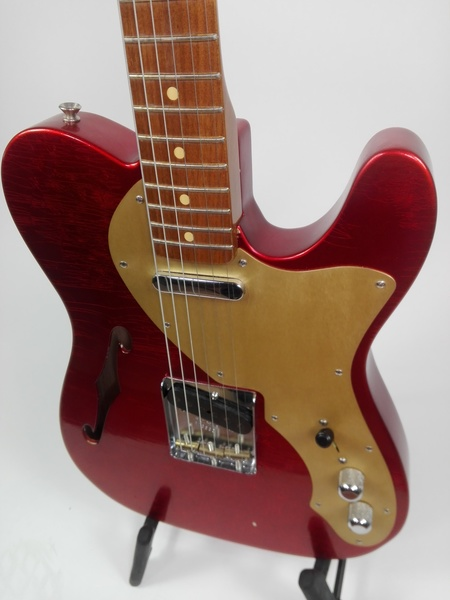 Fender 50's Thinline Telecaster C.C. Masterbuilt (Candy Apple Red)