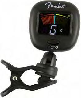 Fender FCT-2 Pro Color Clip-On Tuner Acordoare Clip pentru Chitare/Bass-uri