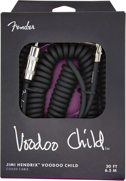 Fender Jimi Hendrix Voodoo Child Cable (black, 6.5m)