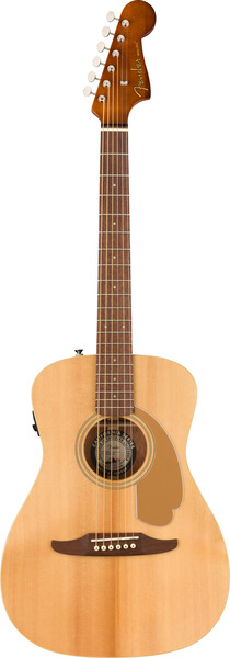Fender Malibu Player (natural) Guitarra Western sem Fraque, com Pickup