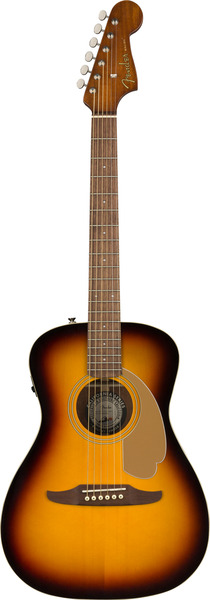 Fender Malibu Player (sunburst) Guitarra Western sem Fraque, com Pickup