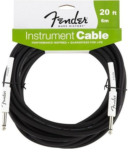 Fender Performance Series Instrument Cable (6m) Instrument Cable Jack-Jack> = 5m To 10m