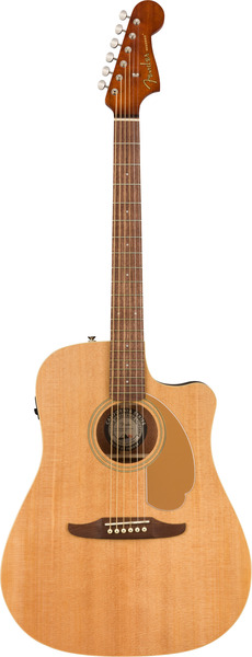 Fender Redondo Player (natural) Guitarra Western, com Fraque e com Pickup