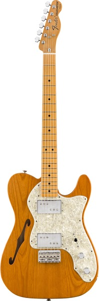 Fender Vintera '70s Telecaster Thinline MN (aged natural) Electric Guitar T-Models