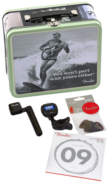 Fender 'You Won't Part With Yours Either' Lunchbox Ltd with Accessories Gitaar Gereedschap & Verzorgingssets