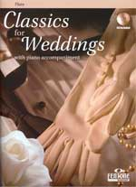 Fentone Classics for Weddings Songbooks for Flute