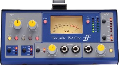 Focusrite ISA One Digital Ein-Kanal-Mikrofon-Preamp