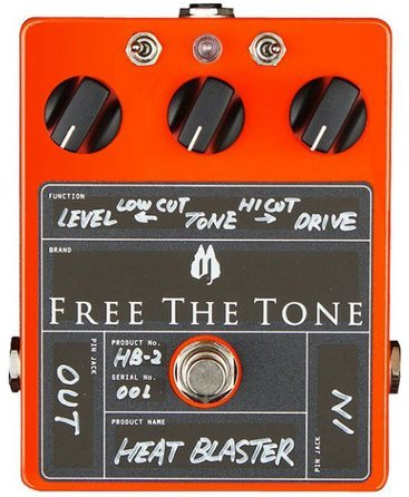 Free The Tone Heat Blaster Overdrive HB-2