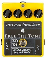 Free The Tone Quad-Arrow Distortion QA-2