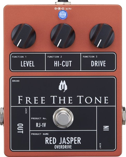 Free The Tone Red Jasper RJ-1V / Red Jasper Low Gain Overdrive