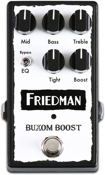 Friedman Amplification Buxom Boost Pedal (bypassable EQ)