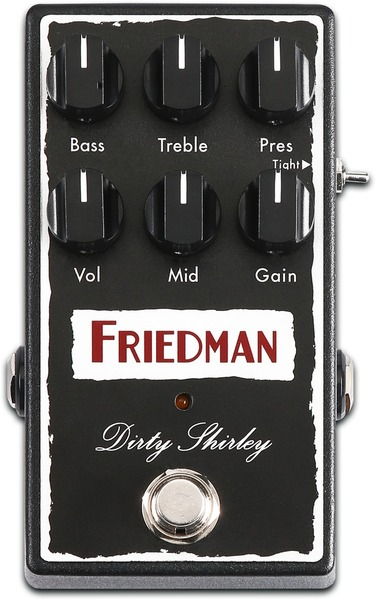 Friedman Amplification Dirty Shirley Pedal (overdrive)