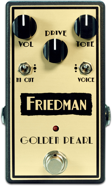 Friedman Amplification Golden Pearl (overdrive)