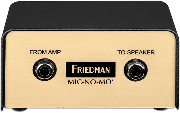 Friedman Amplification MIC-NO-MO