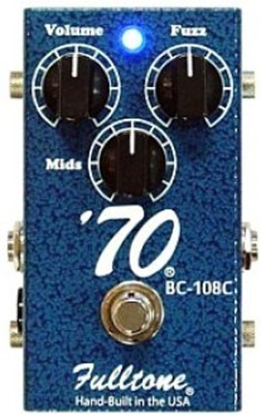 Fulltone 70BC B-Stock '70' FX Pedal Distortion Pedals