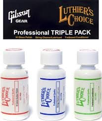 Gibson Guitar Care Triple Pack
