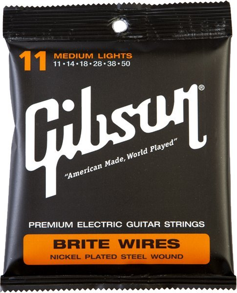Gibson SEG-700ML / Brite Wire (.011 - .050 mediums) .011 Electric Guitar String Sets