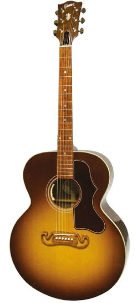 Gibson SJ-100 Walnut (honey burst) Western Gitare Jumbo sa Pickup