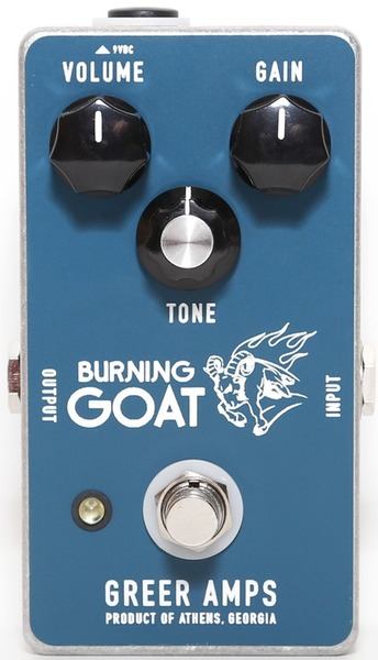 Greer Amps Burning Goat