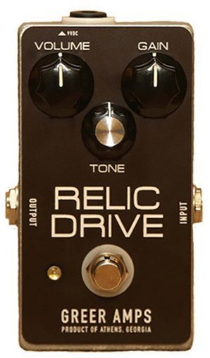 Greer Amps Relic Drive Distortion Pedals