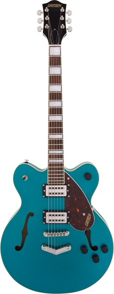 Gretsch G2622 Streamliner Center Block with V-Stoptail (ocean turquoise) E-Gitarren Semi-Acoustic
