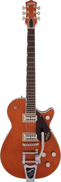 Gretsch G6128T Players Edition Jet FT with Bigsby (roundup orange) Električne Gitare Single Cutaway