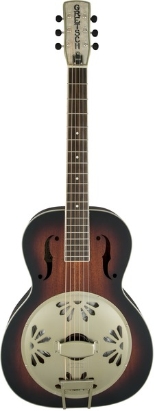 Gretsch G9241 Alligator Biscuit (sunburst) Resonator-Gitarre