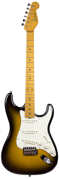 Grosh Guitars NOS Retro MN (two tone burst/maple fingerboard) E-Gitarre ST-Modelle