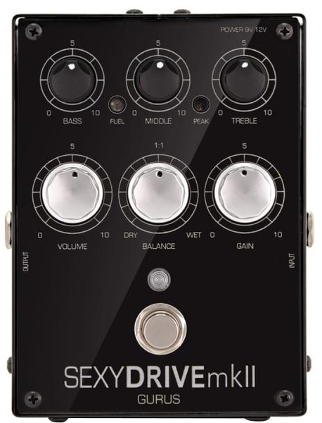 Gurus Amps Sexydrive MkII