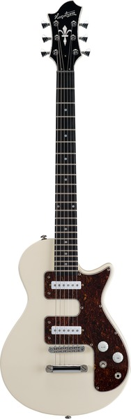 Hagstrom Metropolis S (Crême) Single Cutaway Electric Guitars