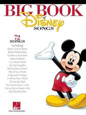 Hal Leonard Big Book of Disney Songs - Clarinet / 9781458411327 (Clar) Songbooks for Clarinet