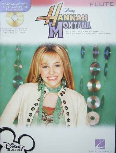 Hal Leonard Hannah Montana / Instrumental Play-Along Songbooks for Flute